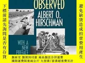 二手書博民逛書店Development罕見Projects ObservedY364682 Albert O. Hirschm