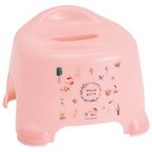 小禮堂 Hello Kitty 塑膠兒童浴椅 淋浴椅 矮凳 小椅子 (淡粉 動物) 4973307-48883