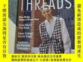 二手書博民逛書店threads罕見1996Y189569 出版1996