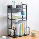 簡易書架置物架辦公室桌面小架子家用桌上多層宿舍書桌整理收納架 「中秋節特惠」