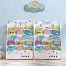 兒童書架簡易置物架落地小學生寶寶書櫃幼兒園收納卡通書報繪本架 【全館免運】