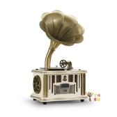 留聲機 迷你多功能留聲機收音機藍芽HiFi音響客廳復古擺件商務禮品T 3色 雙12提前購