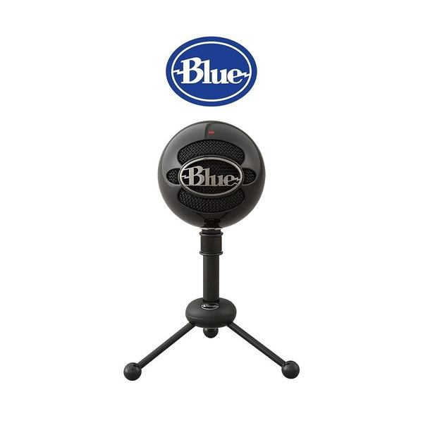 【南紡購物中心】美國 Blue Snowball 雪球USB麥克風 《黑》