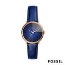 FOSSIL 官方旗艦店 型號:ES4394 鑲晶錶圈和亮眼醒目的螺旋紋錶盤 散發清新女性魅力