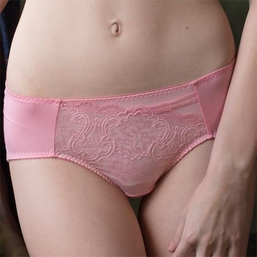 華歌爾-側魔翼提托系列M-2L中腰三角褲(玫瑰粉)NS4118-P2