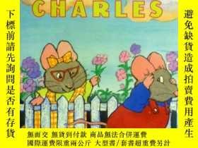 二手書博民逛書店英文原版罕見少兒繪本 Shy Charles 害羞的查爾斯Y20868 Rosemary Wells Puff