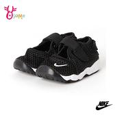 NIKE童鞋 寶寶鞋 男女童運動鞋 忍者鞋 LITTLE RIFT TD 透氣運動鞋 跑鞋 魔鬼氈 Q7132#黑色