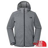【美國 The North Face】男 刷毛保暖外套『灰』NF0A366B 連帽抓絨 拇指孔袖口 DWR防潑水