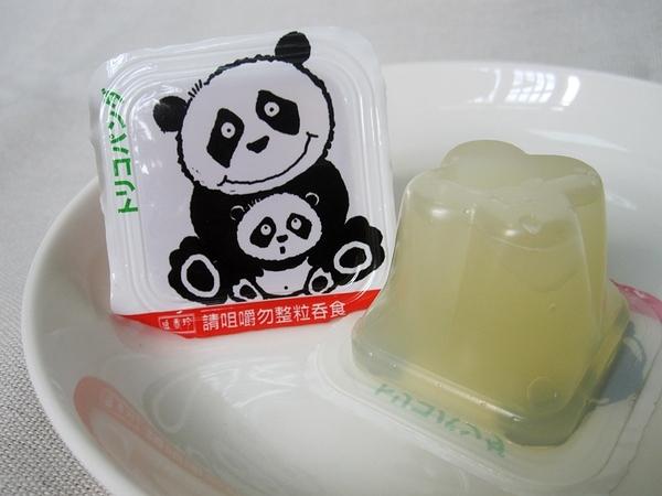 盛香珍 熊貓蒟蒻 椰果果凍 300g(半斤)【合迷雅好物超級商城】