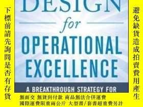 二手書博民逛書店Design罕見For Operational ExcellenceY364682 Duggan, Kevin