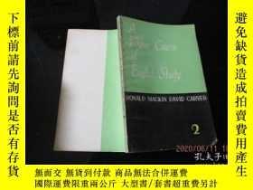 二手書博民逛書店A罕見Higher Course of English Study 1、2(高級英語教程 第一、二冊) 13-6奇