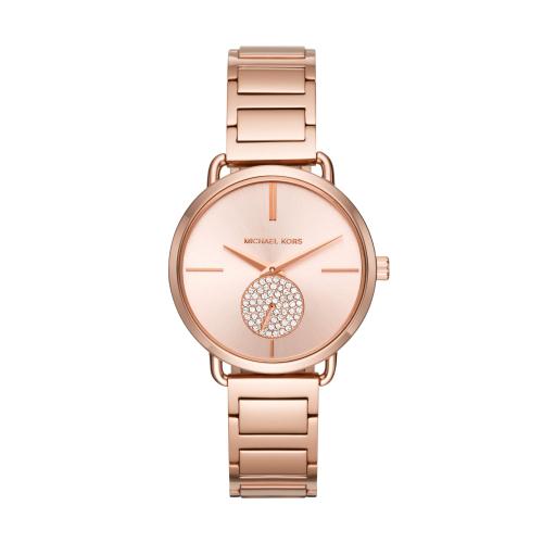 MICHAEL KORS美式優雅小秒針腕錶/大碼MK3640
