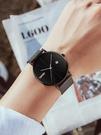 skmei手錶男士學生情侶韓版簡約時尚潮休閑大氣石英錶女抖音同款