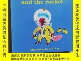 二手書博民逛書店curious罕見george and the rocketY8