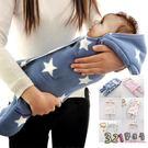 嬰兒包巾 懶人包巾 保暖雙層羊羔絨嬰兒分...