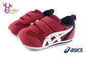 ASICS SUKU 小童運動鞋 機能鞋 IDAHO BABY系列 跑步鞋N7636#紅色◆OSOME奧森童鞋