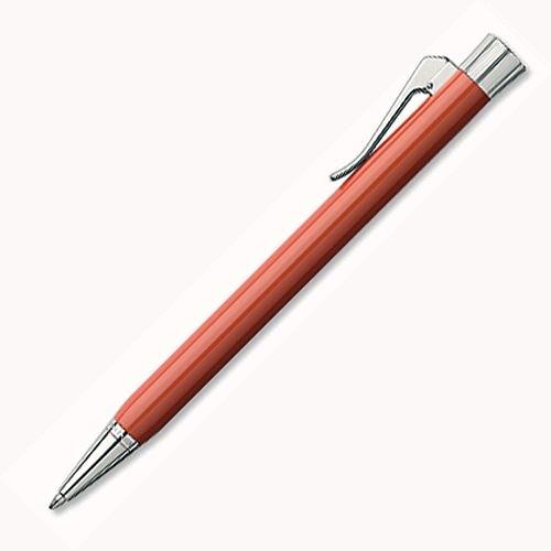 Graf von Faber-Castell Intuition Collection繪寶頂級伯爵直覺系列珊瑚紅原子筆