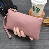 長夾/手拿包 歐美時尚手拿包女2020新款百搭零錢包氣質手抓包潮爆小包