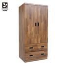【多瓦娜】MIT日式工業-集成3X6三抽衣櫃-18048-WAT