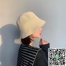 草帽女小檐韓版百搭夏季沙灘遮陽帽子編織漁夫帽【海闊天空】