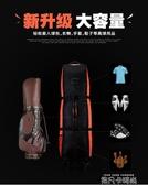 加厚版!PGM 高爾夫航空包 帶滑輪飛機托運包 可折疊 便攜球包QM 依凡卡時尚