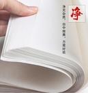 半生半熟宣紙100張書法專用紙作品紙