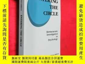 二手書博民逛書店Entering罕見the Circle: Hermeneuti