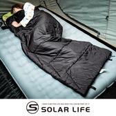 Outthere好野 保暖輕量好威睡袋-100%T3 ecomade高科技環保棉.四季信封睡袋 輕量露營睡袋