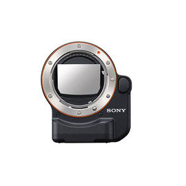 Sony NEX 鏡頭轉接環 (適用 A 接環) LA-EA4 讓全片幅 E-mount 系列相機,透過半透明反光鏡