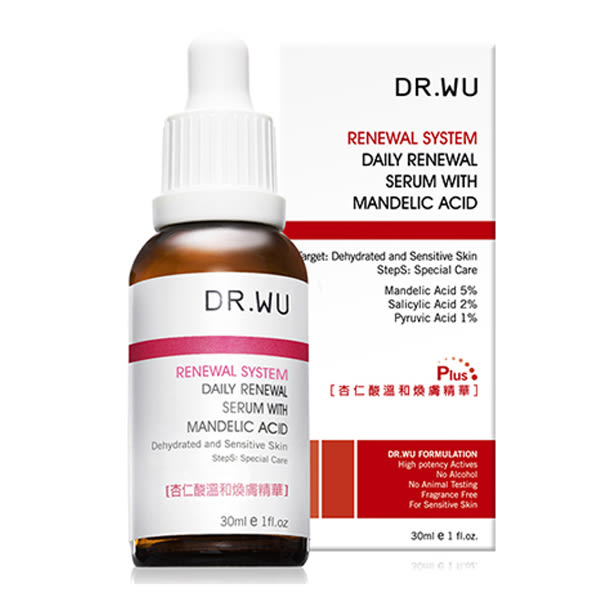 DR.WU 杏仁酸溫和煥膚精華(30ml)【小三美日】