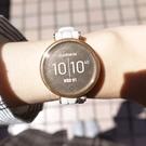 GARMIN / 010-02384-21 / Lily 智慧腕錶 運動款 時尚優雅 矽膠手錶 淡沙玫瑰金色 35mm