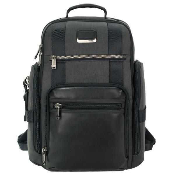 【南紡購物中心】TUMI ALPHA BRAVO SHEPPARD簡約後背包(適用15吋筆電)-石墨灰