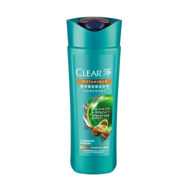CLEAR淨 植萃頭皮煥活洗髮露150ML(控油淨化型)