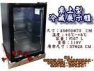 桌上型冷藏展示櫃/單門玻璃冷藏/展示冰箱/冷藏玻璃櫃/冷藏櫃/桌上型玻璃展示櫃/黑色冷藏展示櫃
