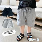 男童短褲夏外穿寶寶小童純棉運動五分褲薄款【奇趣小屋】
