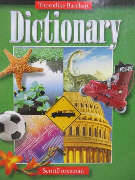 【書寶二手書T6/語言學習_XBK】Thorndike Barnhart Intermediate Dictionary