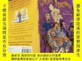 二手書博民逛書店the罕見ghost teacher:鬼老 師Y200392