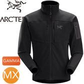 【ARC TERYX 始祖鳥 男款 Gamma MX 軟殼外套 黑鳥】Gamma MX Jacket/立領外套/夾克★滿額送