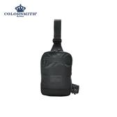 【COLORSMITH】BJ2.方形單肩後背包.BJ2-1397-BK