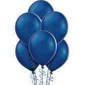 12吋珠光乳膠氣球15入-寶石藍