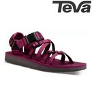 TEVA 《女款》ALP Premier 水陸機能涼鞋 - 莓果紫紅
