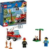 LEGO 樂高 城市燒烤燃盡60212 (64件)