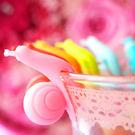 ✭米菈生活館✭【L05】彩色蝸牛分辨器 掛茶包 區分杯子 繽紛蝸牛泡茶分辨器