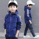 童裝男童外套秋裝新款韓版休閒兒童中大童薄款春秋上衣沖鋒衣 衣櫥秘密