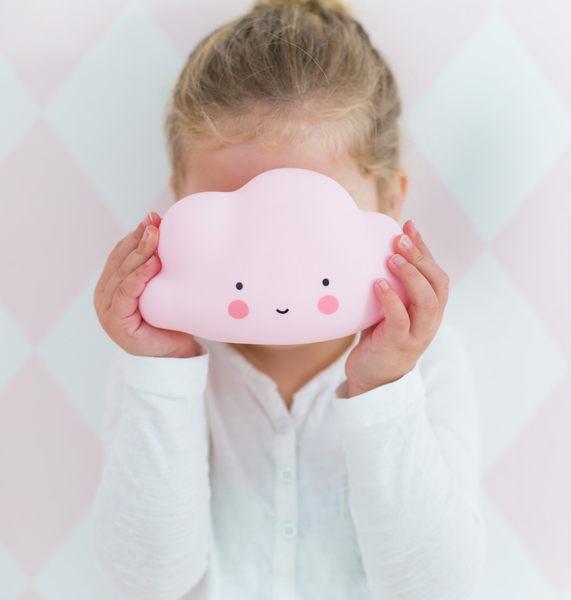 【荷蘭 A little lovely company】療癒微笑雲朵小夜燈 - 蜜糖粉 #LTCP054
