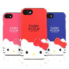 Hello Kitty 雙層防摔 手機殼│iPhone 5S SE 6 6S 7 8 Plus X XS MAX XR│z7702