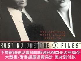 二手書博民逛書店Trust罕見No One: The Official Third Season Guide to The X-F