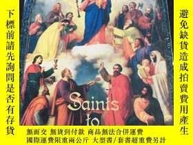 二手書博民逛書店saints罕見to rememberY280165