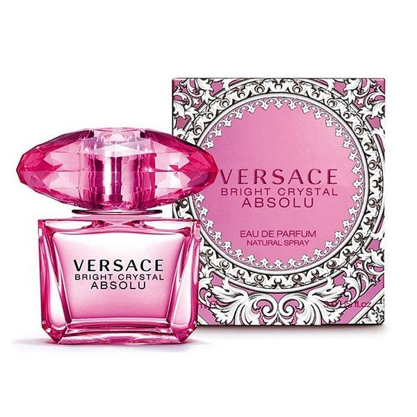 VERSACE Bright Crystal Absolu 絕對香戀水晶女性淡香精 小香 5ml【5295 我愛購物】