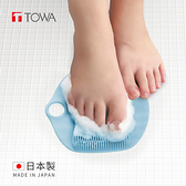【日本東和TOWA】易起泡防滑矽膠按摩足底搓腳墊 (美體 美足 免彎腰 懶人 孕婦)